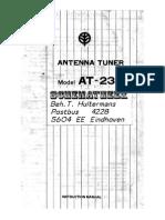 icom At 230 Manual