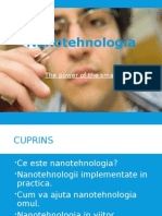 Nanotehnologia Proiect Power Point
