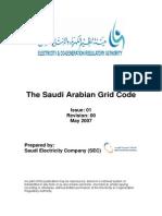 Saudi Arabian Grid Code