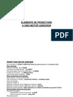 Elemente de Proiectare Motor Asincron