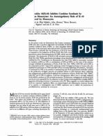 IL10 Inhibits Cytokine Synthesis by Human Monocytes
