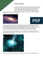 Interessante Fakten ?ber Quasare