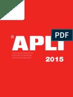 Catalogo apli 2015