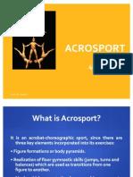 Acrosport Notes English