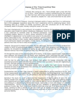 Pedagogy of the Time Travelling Man (EDITABLE FORMAT).Docx