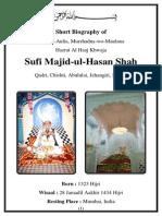 Sufi Majid-ul-Hassan Hassani (Biography)