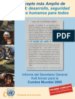 Documento 8. Informe Secretario General 2005