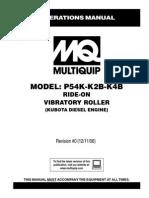 Single Drum P54K K2B K4B Rev 0 Ops Manual DataId 18454 Version 1