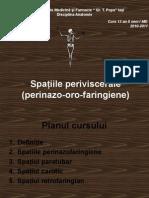 13. Curs -Spatiile Periviscerale
