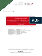 Avaliação e Diagnóstico Do Transtorno de Déficit de Atenção e Hiperatividade (TDAH)
