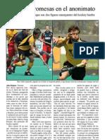 Entrevista Marc Sallés y Sergi Enrique jugadores hockey hierba