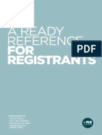 A Ready Reference for Registrants