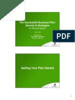 Business Plans & Market Research