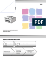 Manual Fax Canon