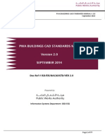 Pwa Buildings Cad Standards Manual Ver 2.0