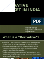Derivative Market in India