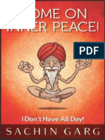 Sachin Garg - Come on Inner Peace I Don 39 t Have