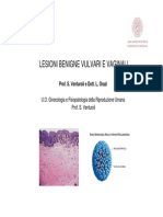 Lesioni Benigne Vulvari e Vaginali
