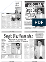 Diario El mexiquense 22 enero 2015