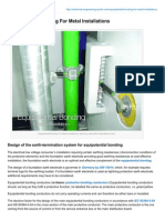 Electrical-Engineering-portal.com-Equipotential Bonding for Metal Installations