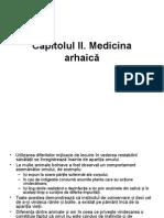2.Medicina Arhaica