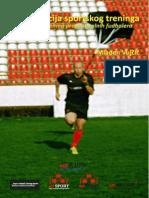 Periodizacija sportskog treninga - Kondicioni trening profesionalnih fudbalera (Mladen Vujčić)