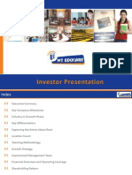 MT Educare Investor Presentation - Quarterly Update_Q2 FY 14-15