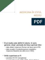 6.Medicina in Evul mediu.ppt