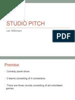 Studio Pitch