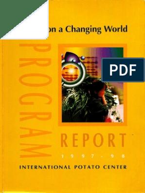 CIP Program Report 1997-98 | Potato | Earth & Life Sciences