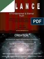 Secret of Balance - Fundamental Law of Universe