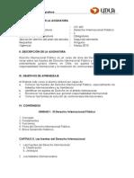 Derecho Internacional Público - LEX 602