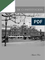 El Poeta de Constitución.  Washington Cucurto