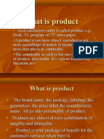 What is Product