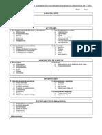 Registro Para La Evaluacion Diagnostica