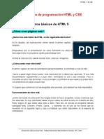 Lenguaje de Programacion HTML 1