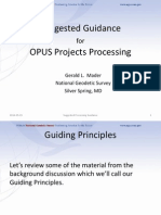 OPUS Projects Processing Guidance - 1a