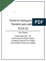 184048969 Informe de Wais III 1