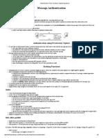 Authentication, Hash Functions, Digital Signatures