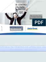 AUDITORIA DE CENTRO DE ATENCION PARA PACIENTES CRONICOS  DR BARCIELA  .pptx