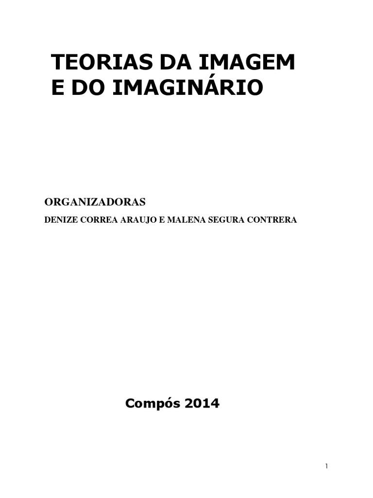 08127b16707fd Teorias Da Imagem e Do Imaginario