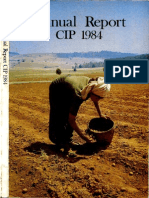 CIP Annual Report 1984