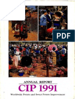 CIP Annual Report 1991