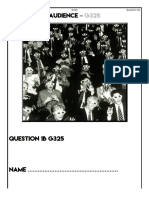 Audience Booklet A2 Mr Smith