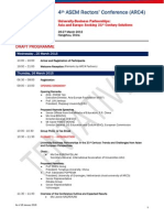 ARC4 Programme Forum