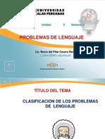 Clasificacion de Los Problemas de Lenguaje