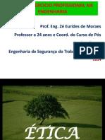 Apresentação Ética Profissional- 2014