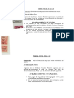 timbres notariales Guatemala