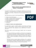 Reglamento de Los Laboratorios de Comunicación Intercultural