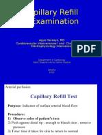 Capillari Refill Examination